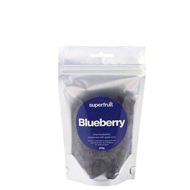 Torkade Blåbär sötad med Äppeljuice, 200 g