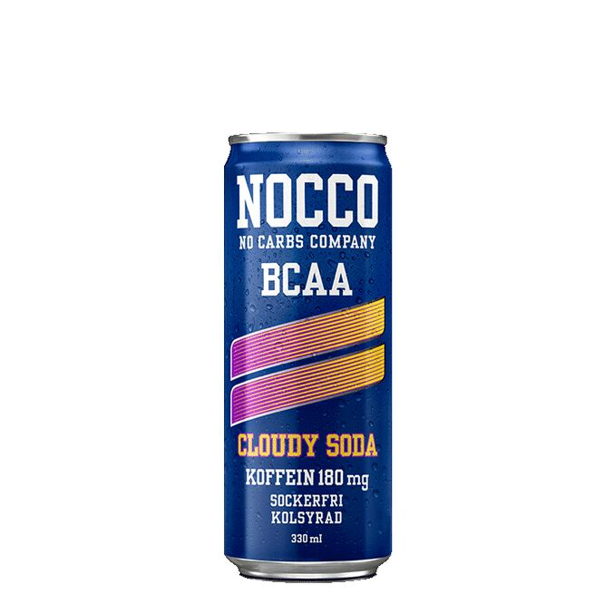 NOCCO BCAA, 330 ml, Cloudy Soda