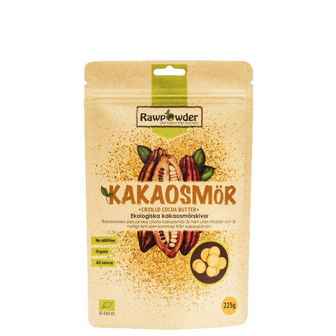 Kakaosmör, Ekologiska Kakaosmörsskivor, 225 g