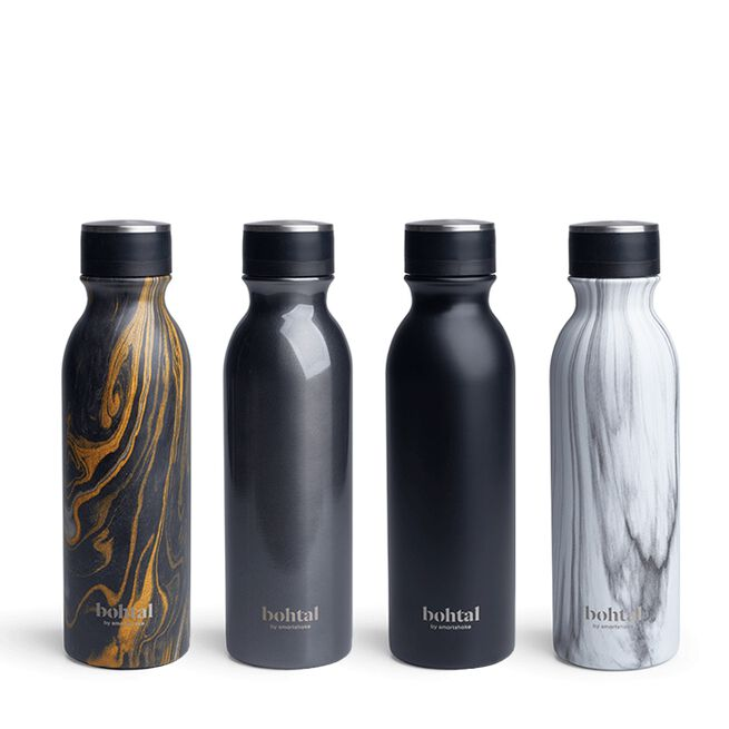 Bohtal Insulated Bottle, Metallic Grey