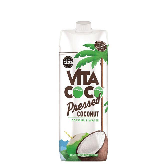 Kokosvatten med pressad Kokos, 1 L