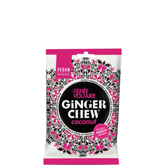 Ginger Chew Coconut, 120 g