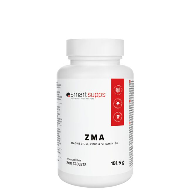 SmartSupps ZMA 300 tabs