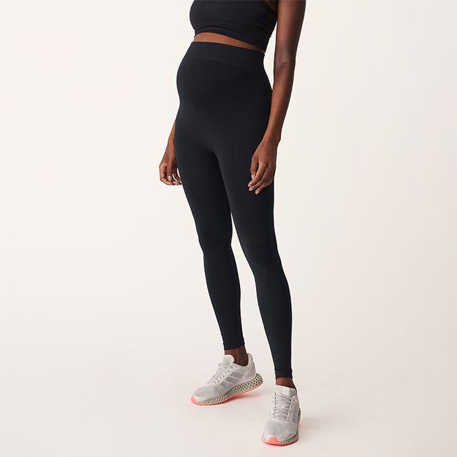 Maternity Seamless Tights, Black, M/L