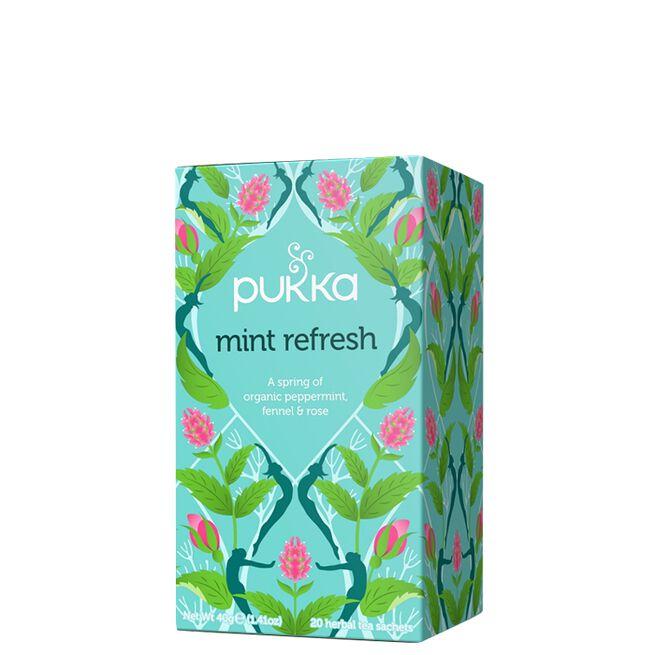 Mint Refresh, 20 påsar