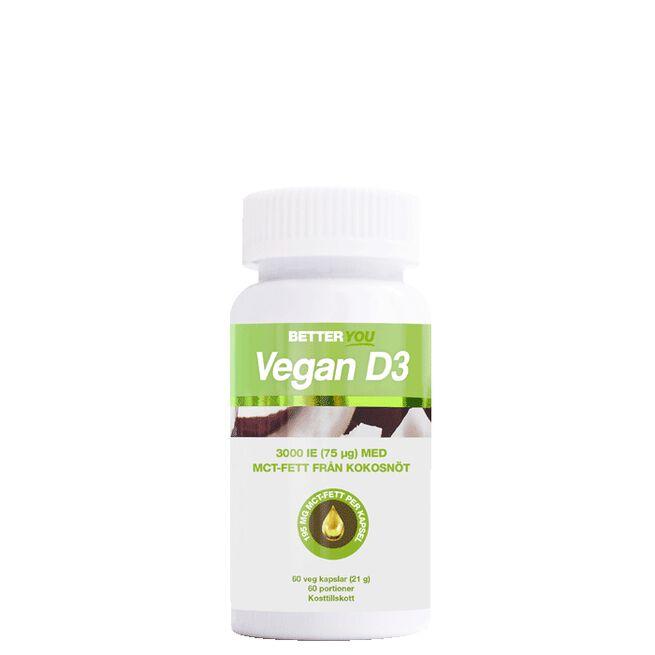 Vegan D3 3000IE + MCT-fett Better You