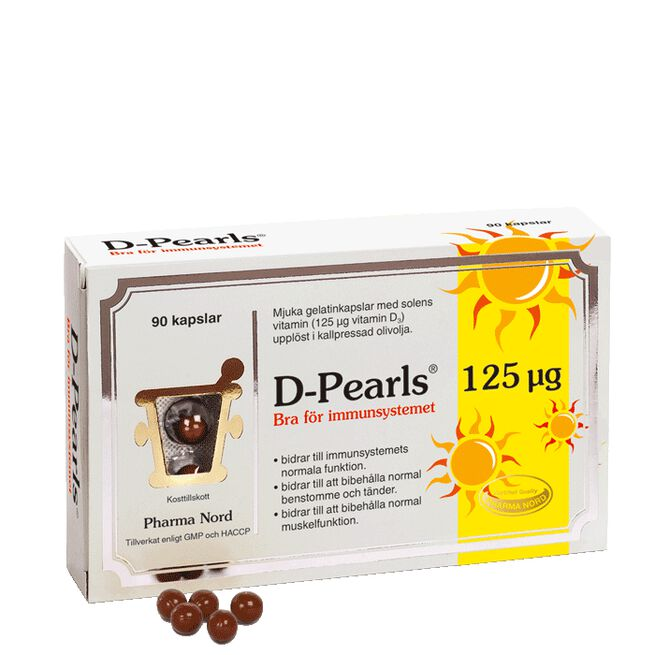 D-Pearls 125 µg (5000 IE) Pharma Nord