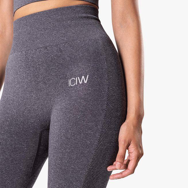 ICIW Define Seamless Tights, Grey Melange