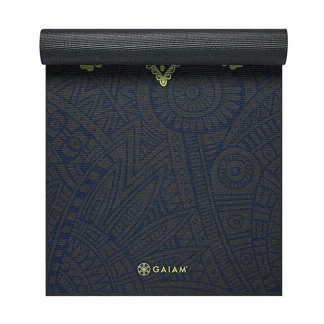 6mm Yoga Mat Sundial Layers