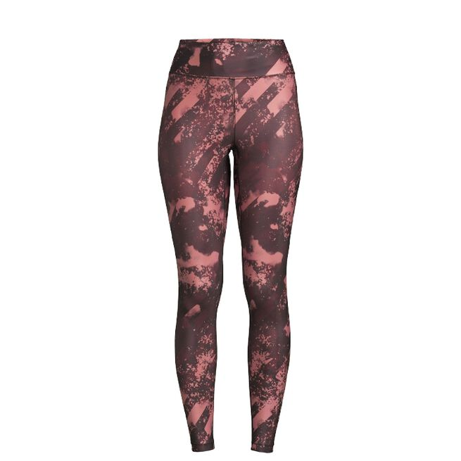 Printed Sport Tights, Boost Red, 34
