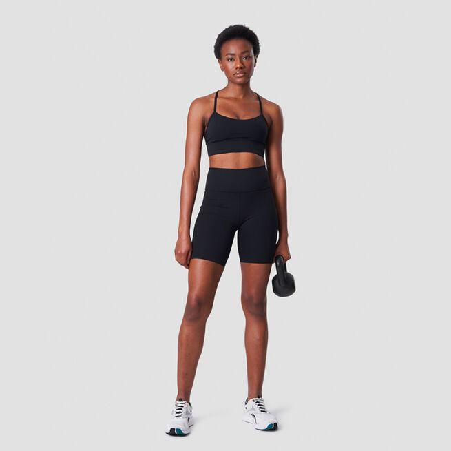 ICANIWILL Nimble Strappy Sports Bra, Black