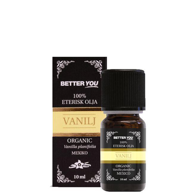 Vaniljolja EKO Eterisk, 10 ml Better You