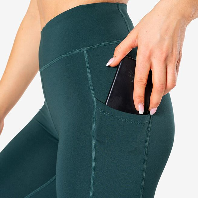 Breeze Tights, Teal Green, S