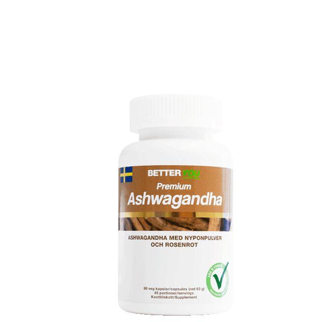 Premium Ashwagandha, 90 kaps Better You