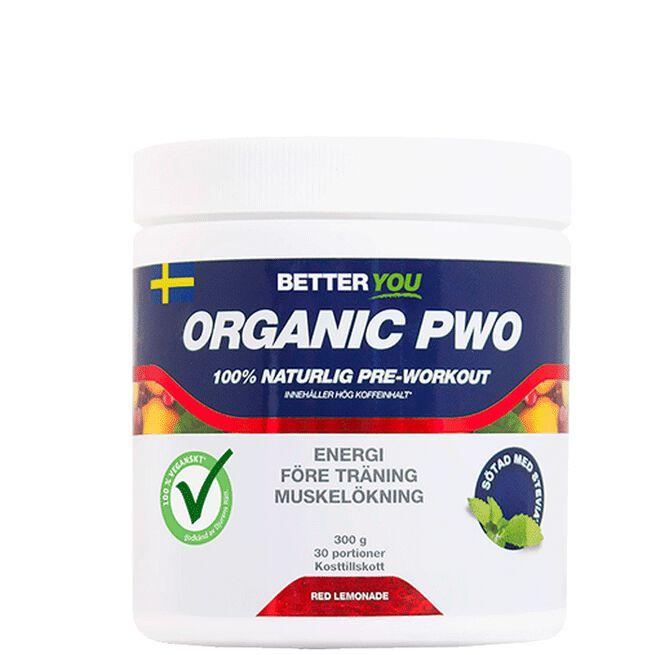 Organic PWO, 300 g Better Red Lemonade