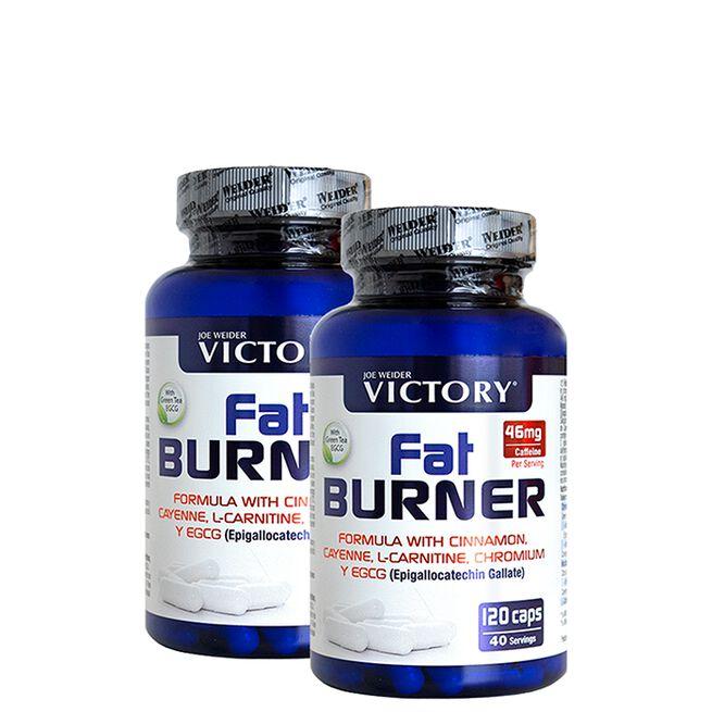 2 x Fat Burner, 120 caps