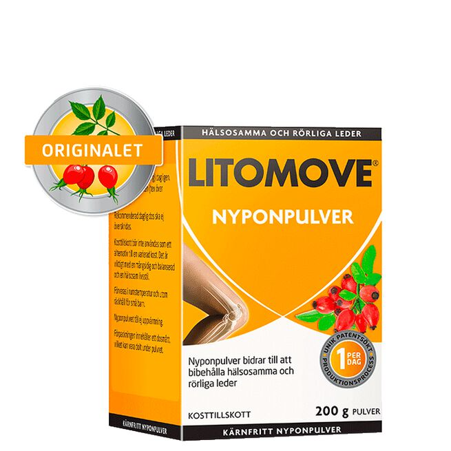 Litomove pulver, 200 g LitoMove