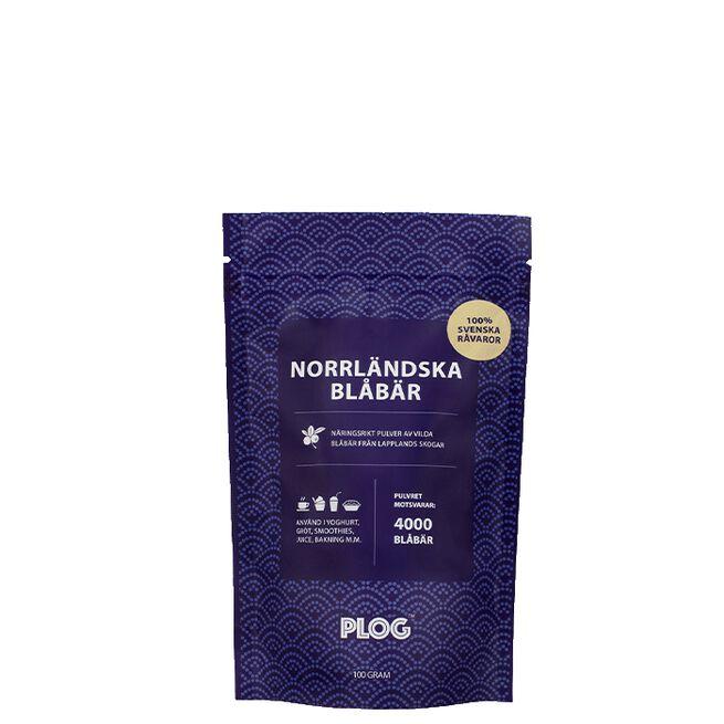 PLOG Norrländska Blåbär, 100 g