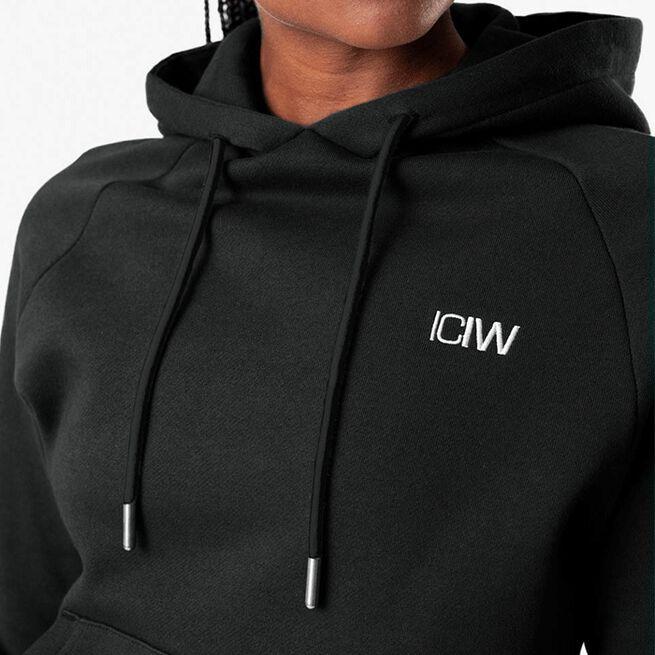 ICANIWILL Essential Hoodie, Black