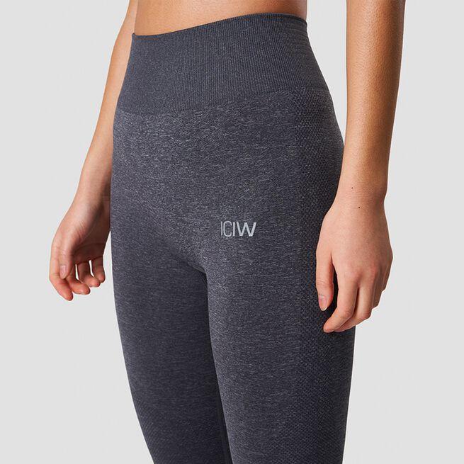 ICANIWILL Define Pocket Tights Grey Melange