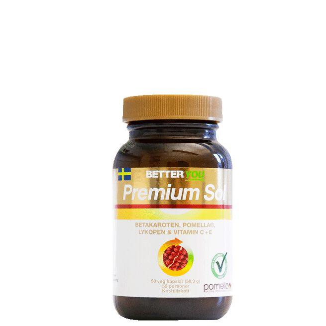 Premium Sol, 50 kapslar Better You