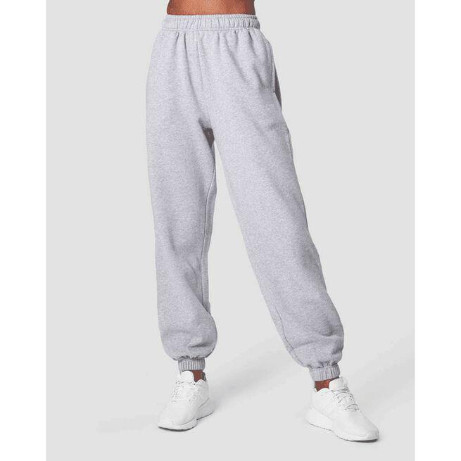 Essential Sweatpants, Light Grey Melange