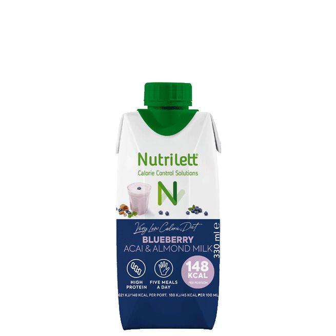 Nutrilett VLCD Smoothie Blueberry Acai, 330 ml