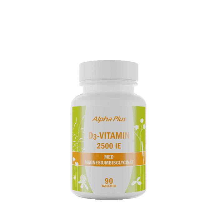 D3-vitamin 2500IE, 90 tabletter