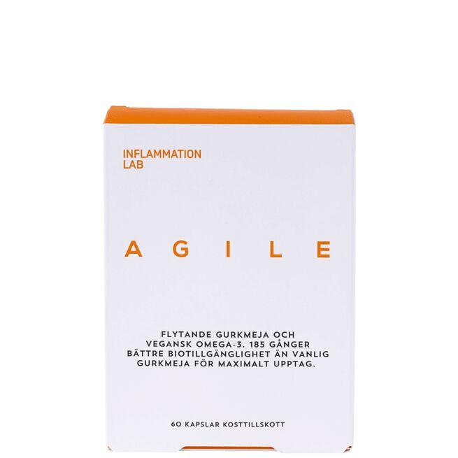 Agile, 60 kapslar Inflammation Lab