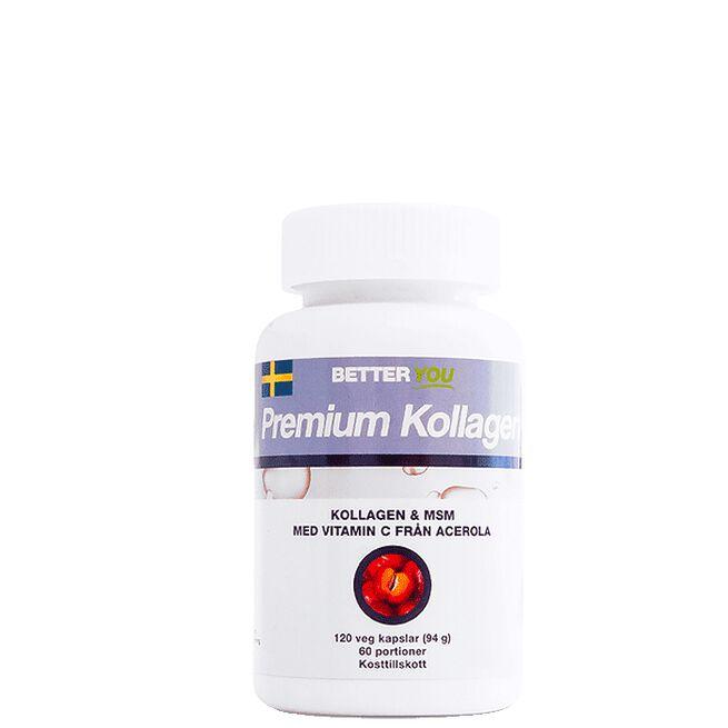Premium Kollagen, 120 kaps Better You