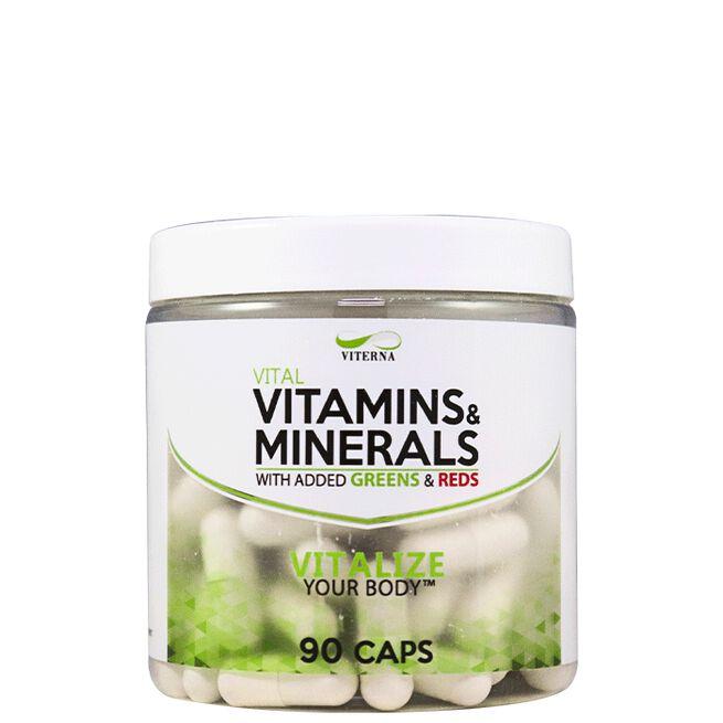 Viterna Vitamins & Minerals 90 caps