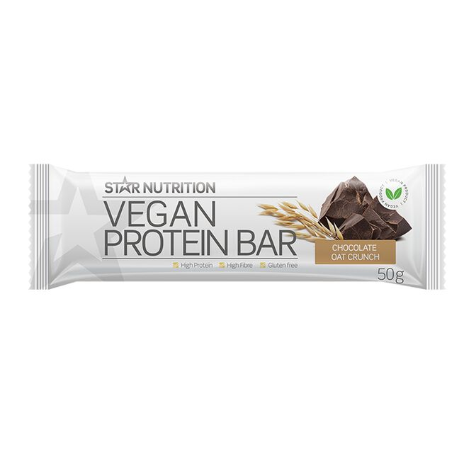 Vegan Protein bar, 50 g, Chocolate oat crunch