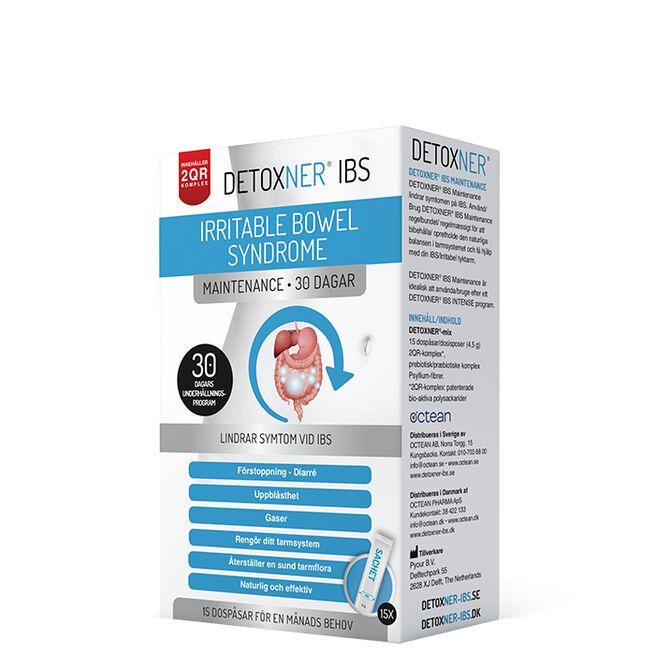 Detoxner IBS Maintenance, 30 dagars kur