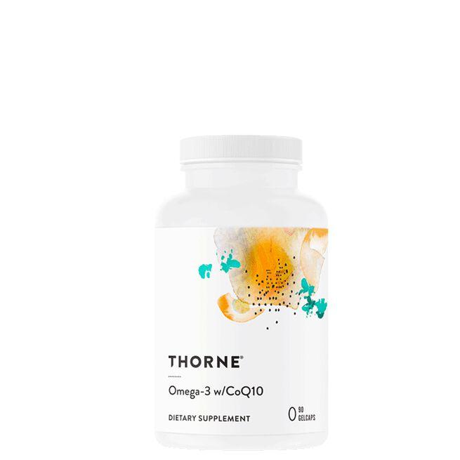 Omega-3 med CoQ10, 90 kapslar Thorne