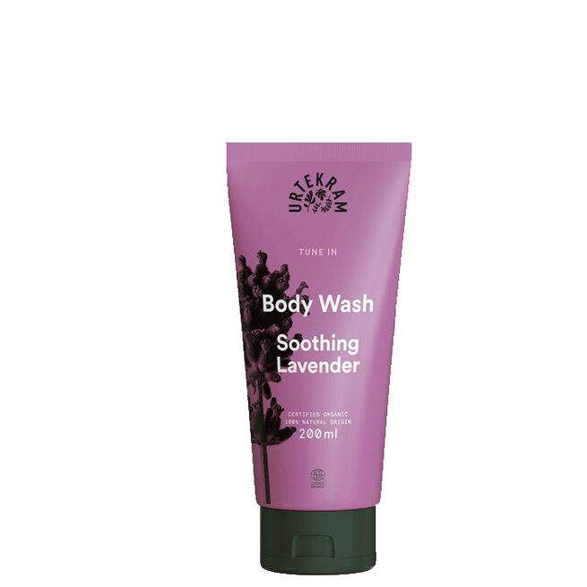 Tune in Soothing Lavender Body Wash, 200 ml Urtekram