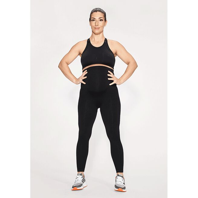Maternity Soft Sportsbra, Black, M/L