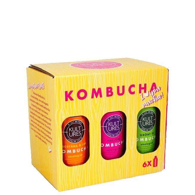 Kultures Kombucha 6-pack