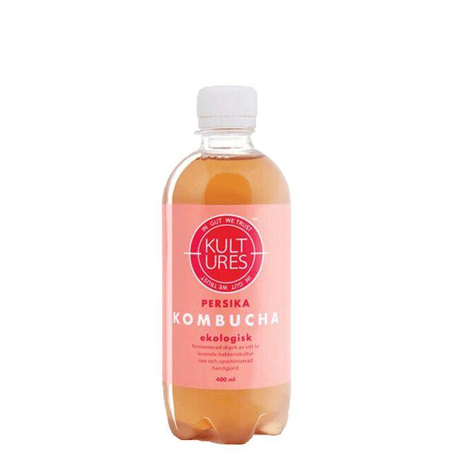 Kultures Kombucha Peach, 400 ml