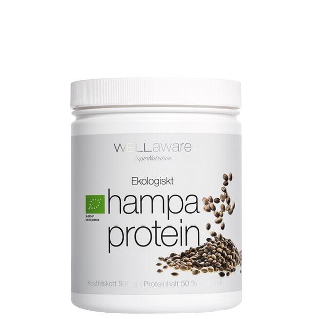Wellaware Ekologiskt Hampaprotein, 500 g