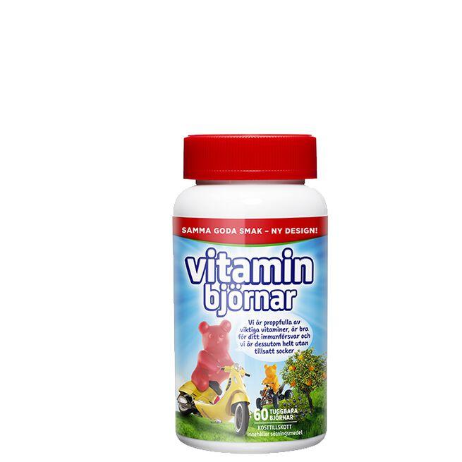 Active Care Vitaminbjörnar, 60 tabletter