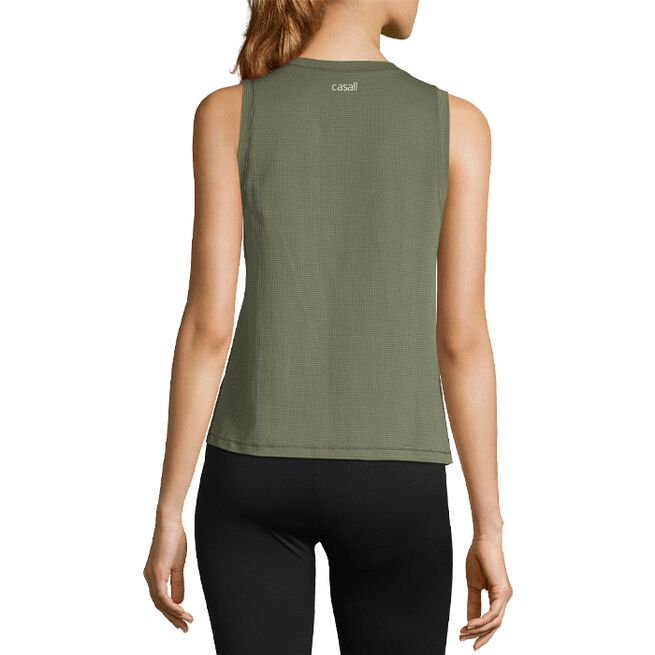 Casall Iconic Loose Tank Northern Green