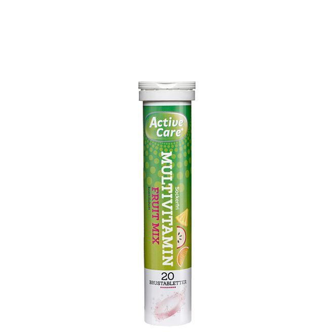 Active Care Multivitamin Fruitmix, 20 Brustabletter