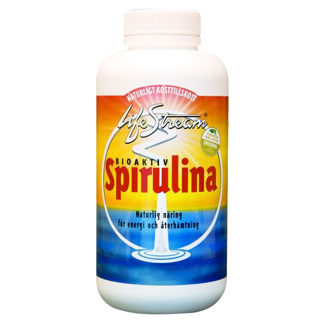 LifeStream Bioaktiv Spirulina, 500 tabletter