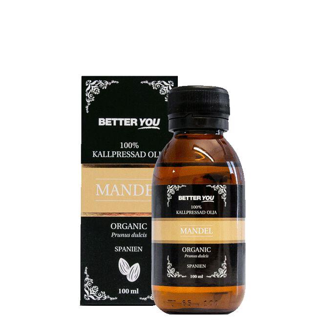 Mandelolja EKO Kallpressad, 100 ml Better You