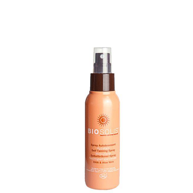 Self Tanning Moisturizing Spray, 100 ml Biosolis