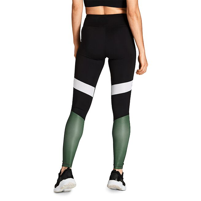 Björn Borg High Waist Block Tights Duck Green