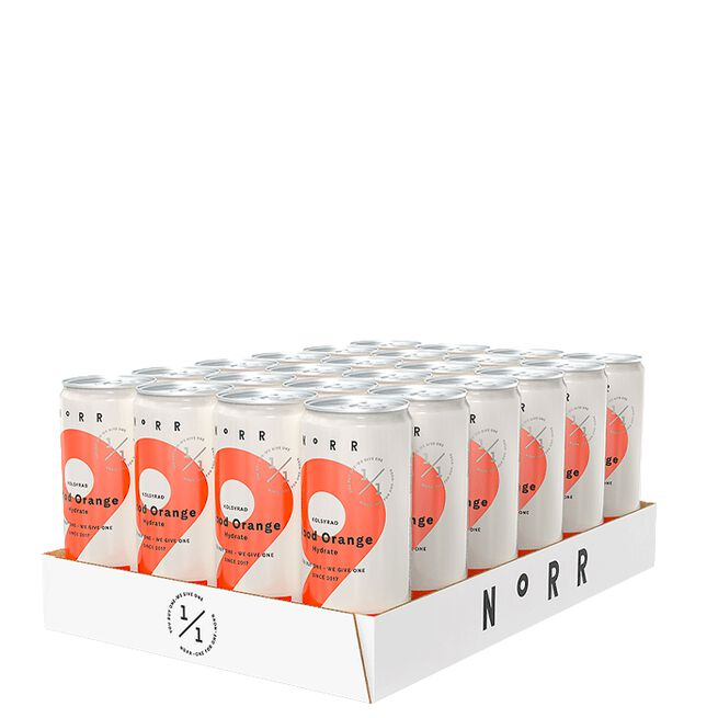 24 x NoRR Hydrate, 330 ml, 2 Blood Orange