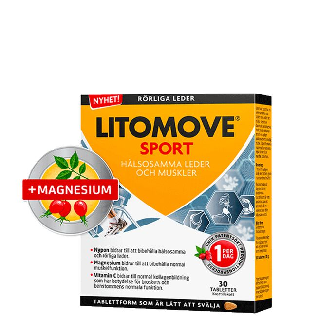 Litomove Sport, 30 tabletter