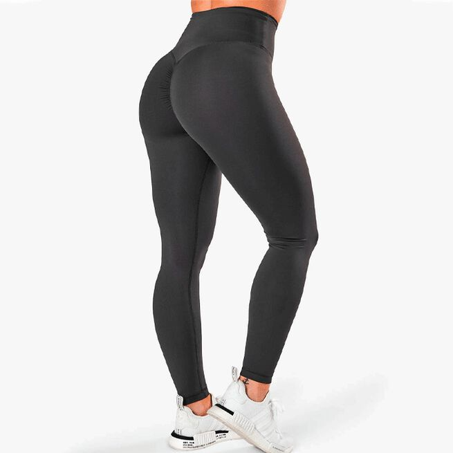 ICIW scrunch v-shape tights anthracite