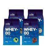 star nutrition whey-80 protein pulver